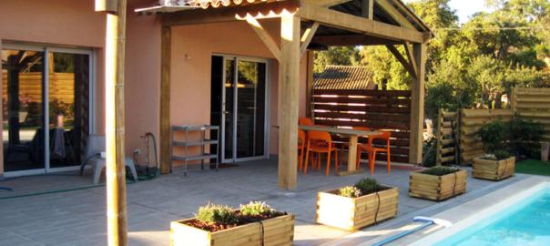 Villa Piscine Location Corse du Sud