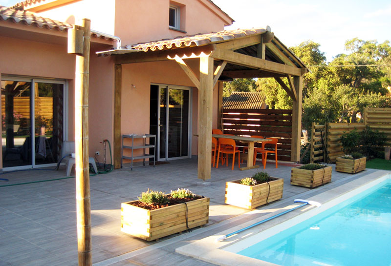 Location Villa Piscine Corse du Sud