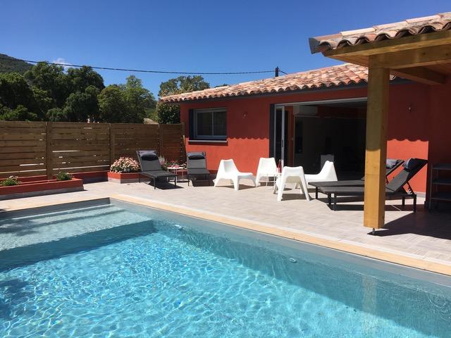 Location Villa Mimosa Corse du Sud