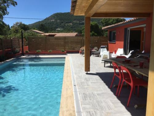 Villas Olivier Corse avec Piscine