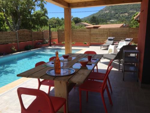 Terrasse Villa Corse du Sud