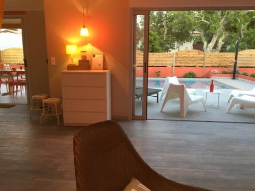 Salon villa corse olivier 1