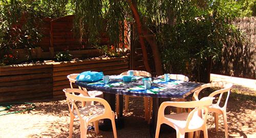 Location villa corse terrasse été