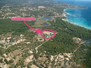 Localisation des villas de location vacances