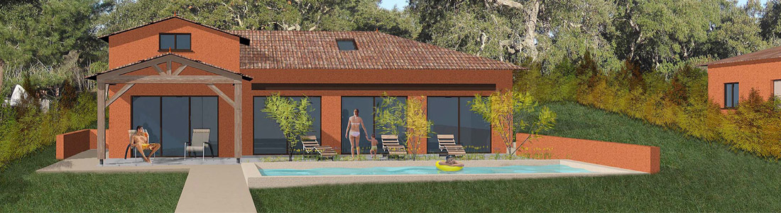 villa cana maison constructible