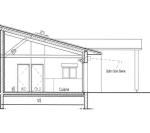 Plan coupé villa corse olivier