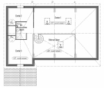 plan villa laurier mezzanine